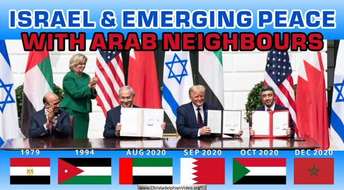 Israel & Emerging Peace with Arab Neighbours