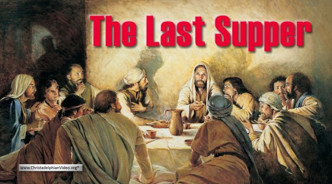 The Last Supper!